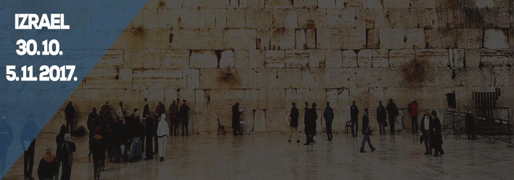 Zájezd Izrael 11/2017