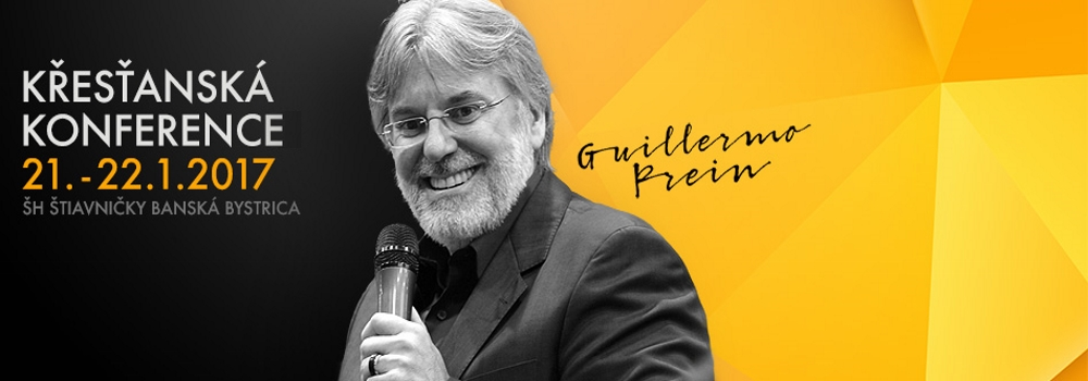 Křesťanská konference 01/2017 - Guillermo Prein