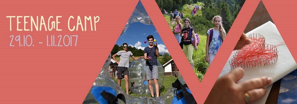Podzimní Teenage camp 2017