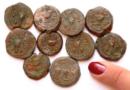 U Chrámové hory našly mince z doby vzpoury proti Římanům